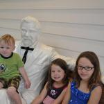 Meeting Colonel Sanders in Corbin, Kentucky - August 1st