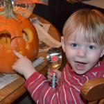 Carving pumpkins - October 30th
