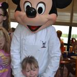 Having breakfast with Mickey - April 15th