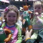 At the Bucks' game - January 30th