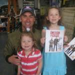 Hanging out with Mike Wolfe from the American Pickers TV show in LeClaire, Iowa - April 9th 2011