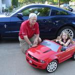 The two proud Mustang owners - June 2nd 2012