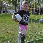 Our little soccer star